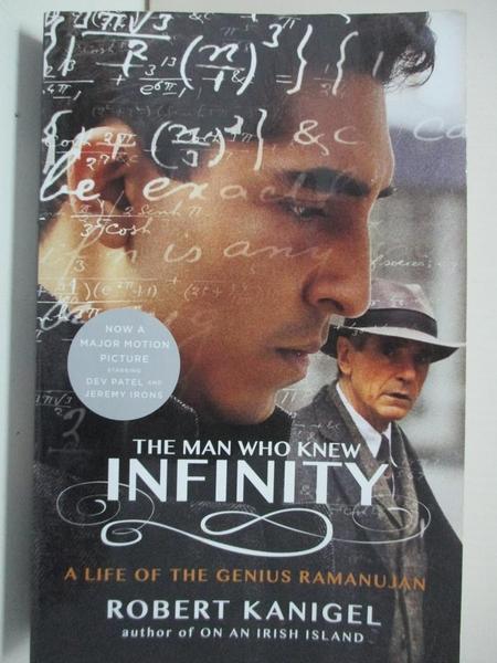 【書寶二手書T6/傳記_GNI】The Man Who Knew Infinity: A Life of the Genius Ramanujan_Kanigel, Robert