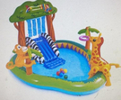 [COSCO代購] W128983 Intex 叢林樂園戲水池