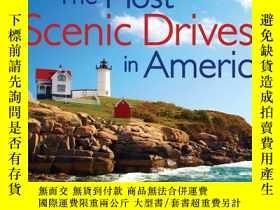 二手書博民逛書店Most罕見Scenic Drives in America: