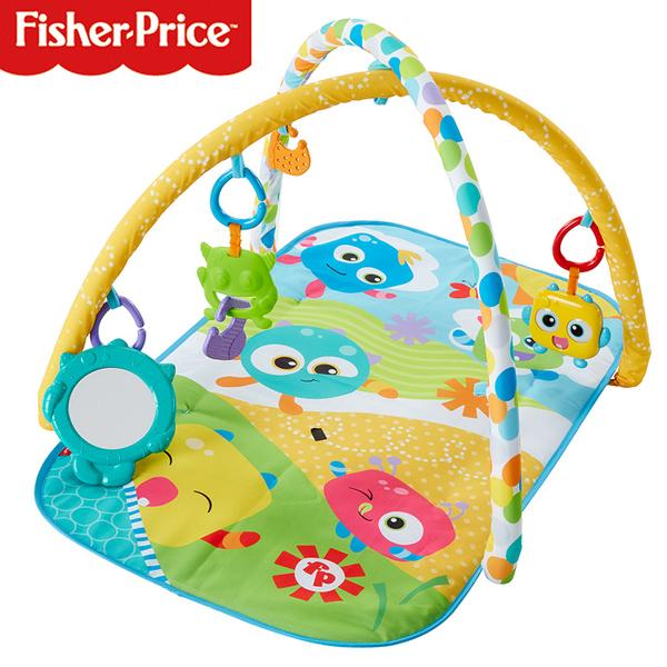 費雪牌 Fisher-Price 可愛怪獸健身器 589641 好娃娃
