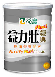 【益富】益力壯Plus經典均衡營養配方 800gx6瓶(組合價)