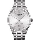 TISSOT 天梭 杜魯爾系列機械動力80手錶-銀/42mm T0994071103700