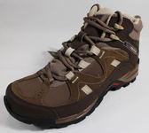 SALOMON 女 HILLPASS GTX 中筒登山鞋 墨灰/咖啡棕/沙棕 L38139100 [陽光樂活=]