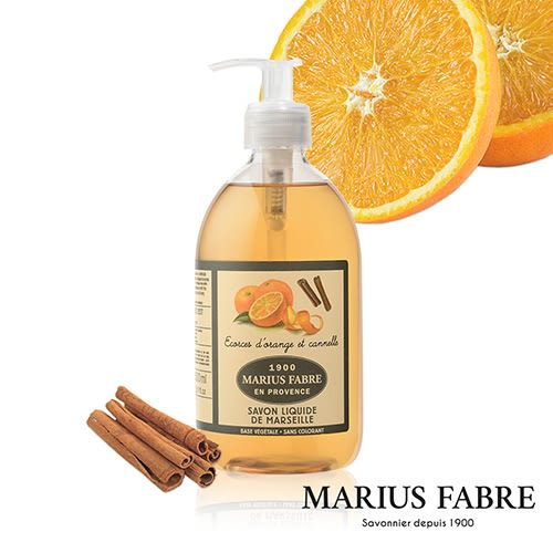 法國法鉑-天然草本甜橙液體皂/500ml