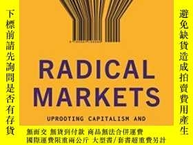 二手書博民逛書店Radical罕見MarketsY255562 Eric A. Posner Princeton Univer