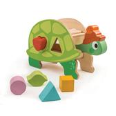 【美國Tender Leaf Toys】烏龜形狀積木組(配對積木遊戲)
