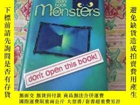 二手書博民逛書店the罕見scary book of monsters【品如圖避