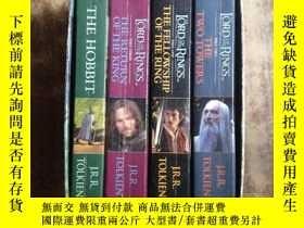 二手書博民逛書店The罕見Lord of the Rings(共4冊套裝 英文原