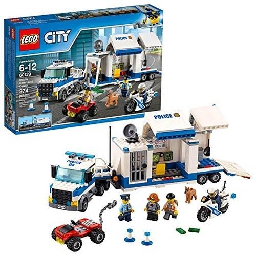 LEGO 樂高 City Police Mobile Command Center Truck 60139 (374 Pieces)