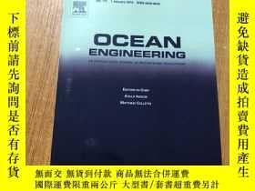 二手書博民逛書店OCEAN罕見ENGINEERING 海洋工程2016Y1676