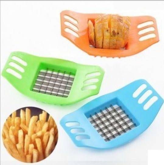 不銹鋼手動馬鈴薯切條器 / 創意廚房用品多功能切菜器 29元