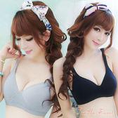 3D棉質輕感立體罩杯bra T 無鋼圈運動內衣 運動/路跑/瑜珈穿搭  - 香草甜心