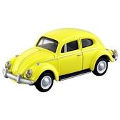 小禮堂 TOMICA多美小汽車 福斯Volkswagen Type1 金龜車 玩具車 模型車 (32 黃) 4904810-13182