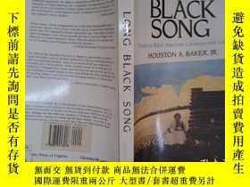 二手書博民逛書店LONG罕見BLACK SONG: Essays in Black American Literature and
