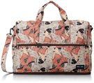 HAPI+TAS 摺疊小旅行袋 - 日本和服侍女