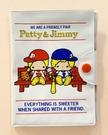 【震撼精品百貨】彼得&吉米Patty & Jimmy~三麗鷗 彼得&吉米證件套/卡片本*16482