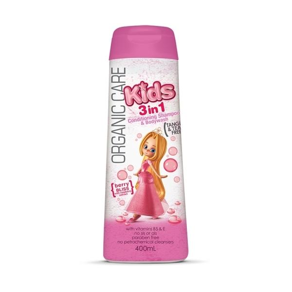 【澳洲Natures Organics】植粹兒童泡泡洗髮沐浴露(Bliss)400mlx4入-箱購