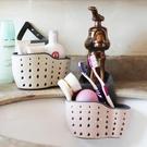 水槽塑料瀝水籃收納掛籃廚房小用品廚具置物...