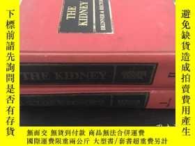 二手書博民逛書店THE罕見KIDNEY BRNNER RECTOR精裝兩本1.2