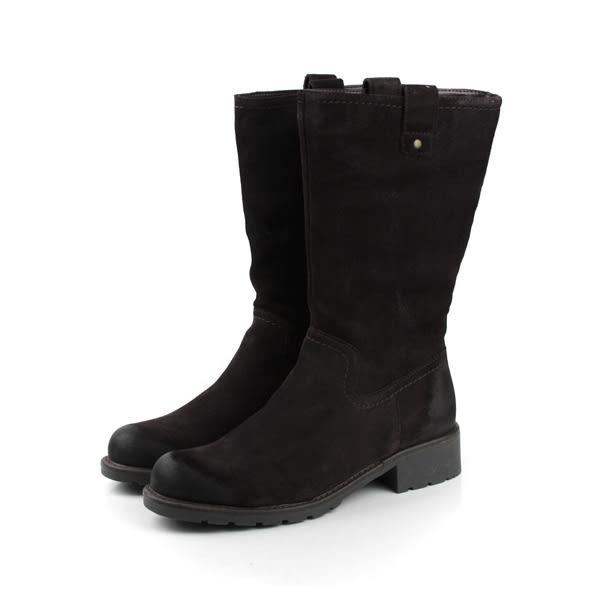 15e5052e218 Clarks Orinoco River 靴子 深咖 女鞋 no729