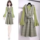 兩件式洋裝 S-XL 高品質小香風連身裙...