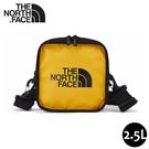 【The North Face 2.5L EXPLORE BARDU II 斜背包《黃》】3VWS/側背包/輕巧方形休閒單肩背包