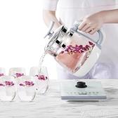 保溫養生壺全自動家用多功能辦公室小型煮茶器玻璃養身電水壺-220V-享家