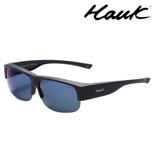 HAWK偏光太陽套鏡(眼鏡族專用)HK1602A-37