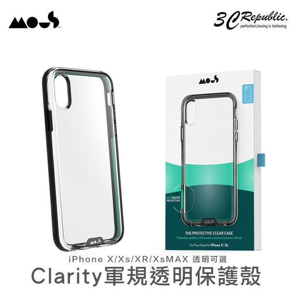 MOUS 英國 Clarity iphone X Xs XR Xs Max 軍規 認證 透明 防摔殼 手機殼 保護殼