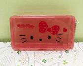 【震撼精品百貨】Hello Kitty 凱蒂貓~Sanrio HELLO KITTY可愛圖案OK蹦~紅色附盒#07758