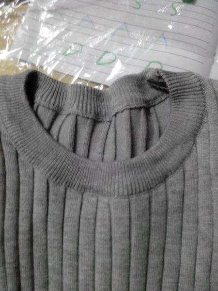(全館一件免運)素面針織上衣(TD-3608)