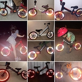 3張裝 平衡車反光貼輪胎裝飾貼紙夜光配件夜騎【橘社小鎮】