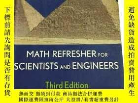 二手書博民逛書店MATH罕見REFTESHER FOR SCIENTISTS A