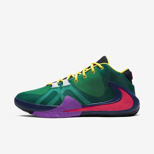 Nike Zoom Freak 1 Multi Ep [CW3202-800] 男鞋 運動 籃球 氣墊 避震 穿搭 綠橘