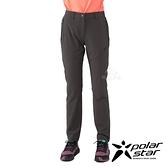 PolarStar 女 彈性吸排UV機能長褲『暗灰』P21362 戶外 休閒 登山 露營 運動褲 釣魚褲