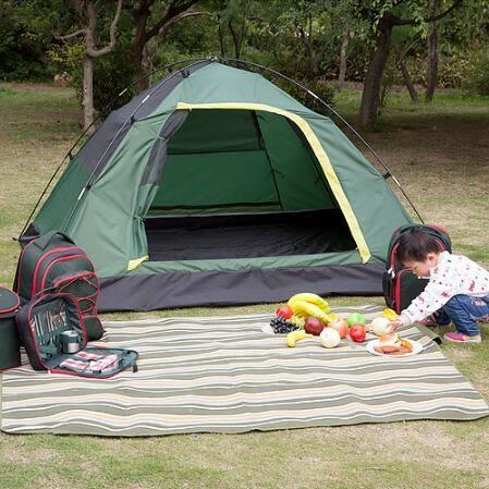 雙十二鉅惠 露營防雨家庭全自動帳篷套裝xw