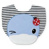 【奇買親子購物網】酷咕鴨KU.KU. 眨眨眼條紋小圍兜(藍色/粉色)