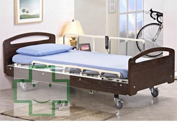 ✿✿✿【福健佳健康生活館】立新 F03-LA一般居家木飾板型三馬達床 花東地區運費另計