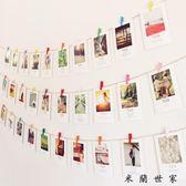 文藝明信片裝飾懸掛照片墻裝飾畫