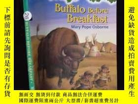 二手書博民逛書店{外文原版}Buffalo罕見before Breakfast