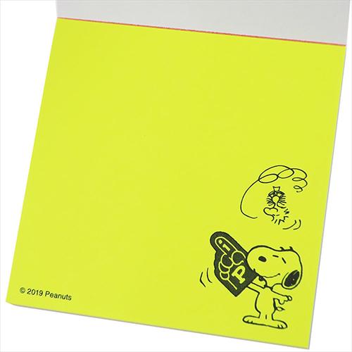 Sun-star 日本製自黏便利貼組 SNOOPY 歡呼 運動風 _UA59424