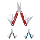 [2美國直購] LEATHERMAN, Micra Keychain Multitool with Spring-Action Scissors and Grooming Tools 紅/灰/藍