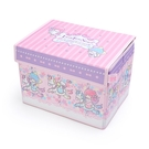 【震撼精品百貨】Little Twin Stars KiKi&LaLa 雙子星小天使~~三麗鷗可折收納箱-旋轉木馬*54590