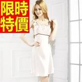 睡衣(套裝)-真絲質簡單春夏精緻氣質女睡裙56h39【時尚巴黎】