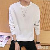 中大尺碼 長袖T桖韓版修身體恤打底衫 WD3518【衣好月圓】