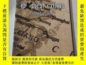 二手書博民逛書店e罕見pat atlas Shanghai:e pat atlas Shanghai上海Y212829