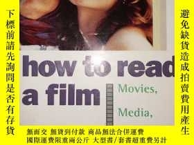 二手書博民逛書店HOW罕見TO READ A FILM The World of