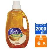毛寶 香滿室 檀木馨香 中性 地板清潔劑 2L (6入)/箱