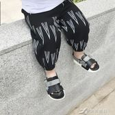 寶寶防蚊褲夏季嬰幼兒褲子薄款兒童防蚊褲休閒褲打底褲 樂芙美鞋