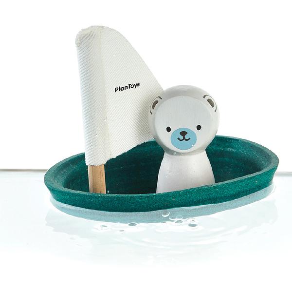 《 泰國 PLAN TOYS 》北極熊帆船 / JOYBUS玩具百貨
